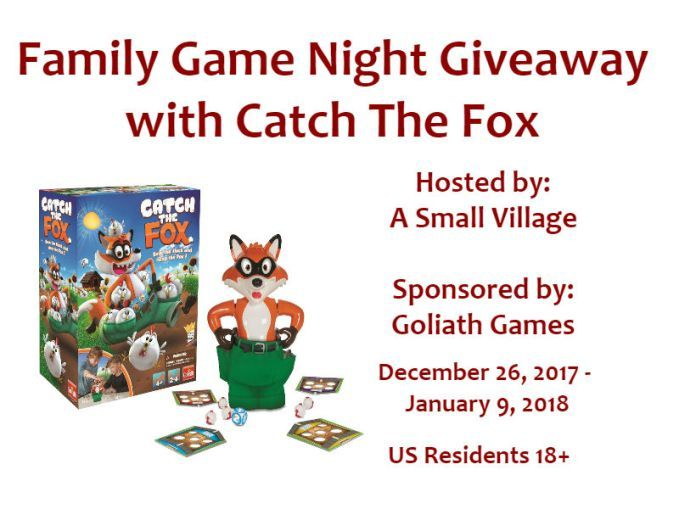 Wonderful way to gather with those you love - game night! Check out the Catch the Fox game review & visit my blog to win a Catch the Fox game for yourself!