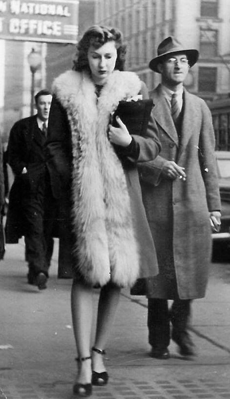 78 best 1940s Fur images on Pinterest | 1940s, Fur and Furs