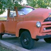 **VERY RARE** 1956 INTERNATIONAL S120 4WD TRUCK W/VINTAGE SNOW PLOW for sale: photos, technical specifications, description
