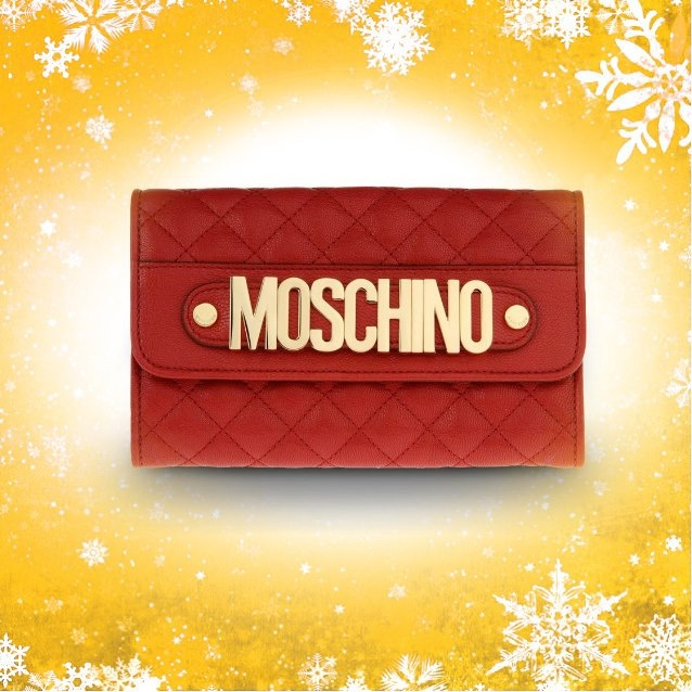 Moschino Advent Calendar: day 25! Today it's a Moschino Christmas!   #moschino #wallet