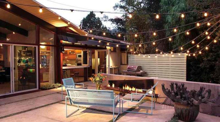 20 Beautiful Outdoor String Lights Set Up