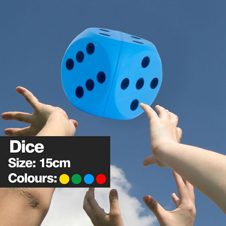 15cm Dice... http://urofoam.com/