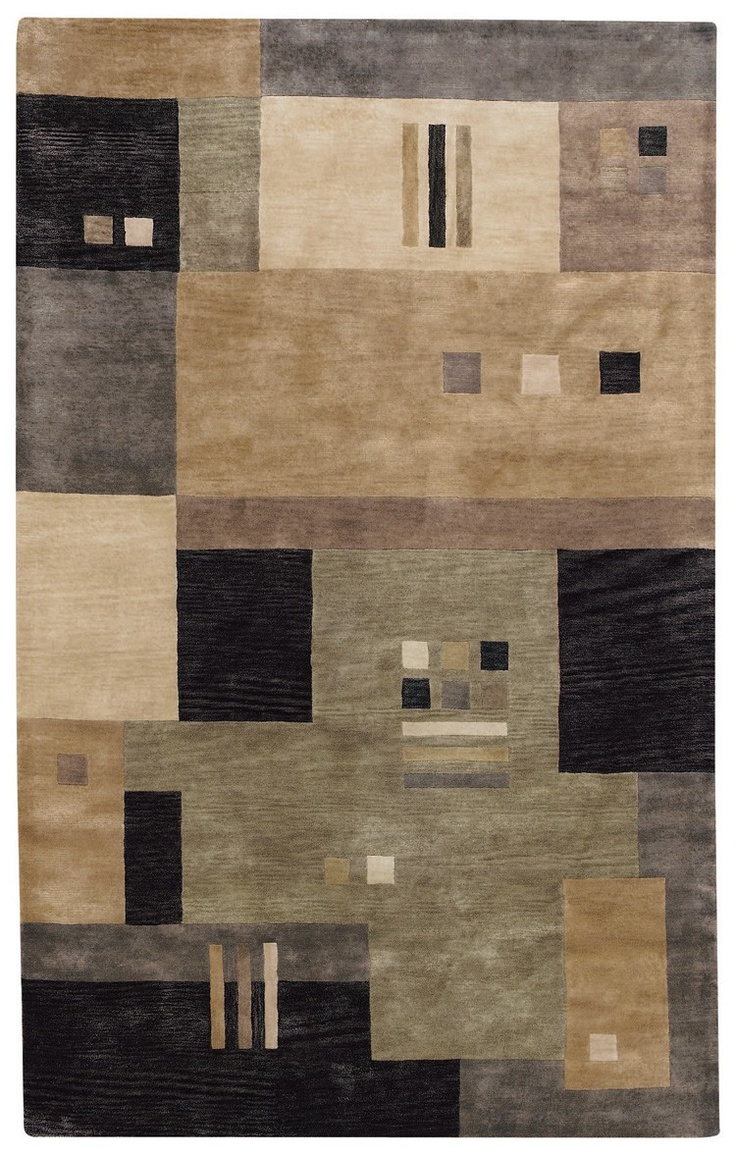 Capel Rugs Left Bank Collection Onyx Multi Rug