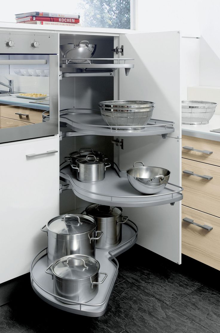 Functionality first.  The storage can be configured to suit your personal requirements #showroom #modern #design #bespoke #kitchens #functionality #organising #storage #clever #streamlining #style #tips #ideas