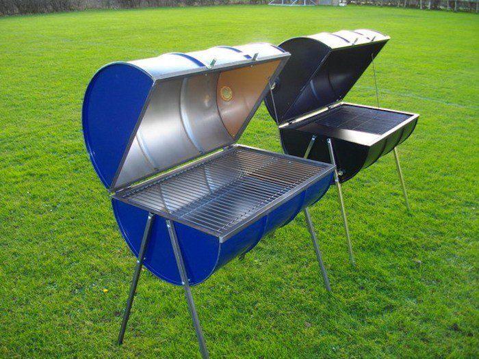 barbecue tonneau baril neuf bleu ou noir comment faire