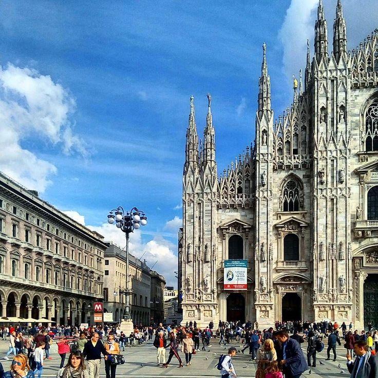 October in Milan...