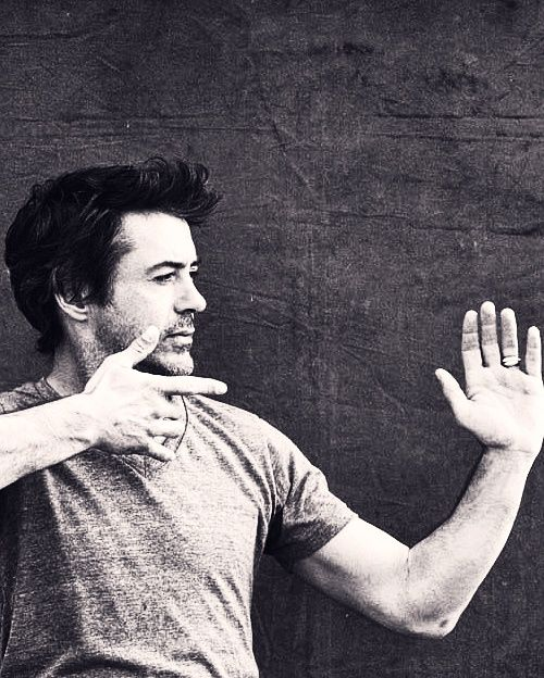 Beards, Beau's & Bad boys... / Robert Downey Jr