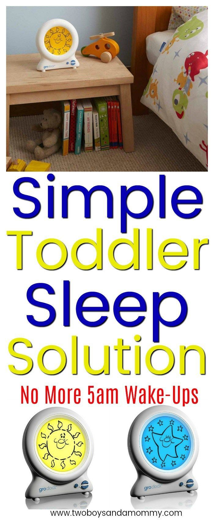toddler sleep solution
