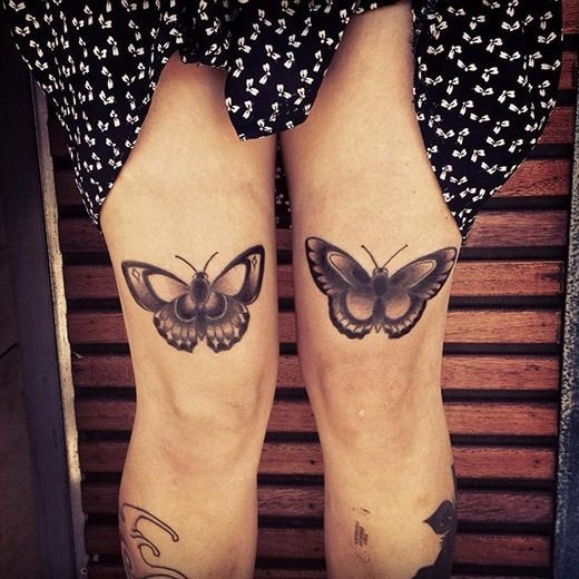 http://tattoo-ideas.us/wp-content/uploads/2014/03/Traditional-Butterflies-Tattoos.jpg Traditional Butterflies Tattoos #BlackInk, #Bugtattoos, #Legtattoos