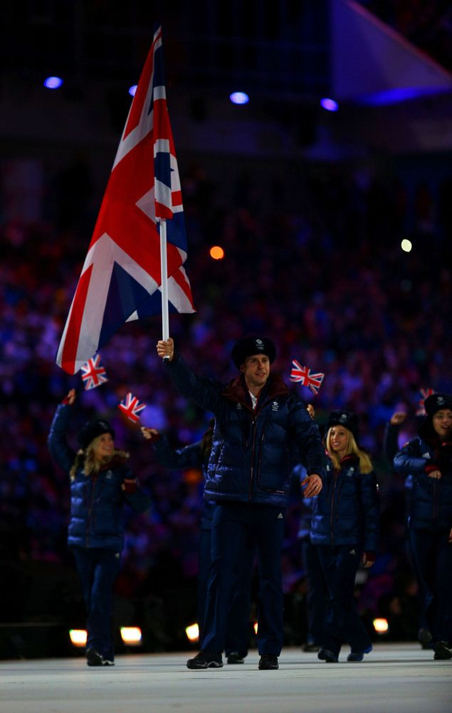Sochi 2014 Olympic Opening Ceremony Outfits - Team Great Britain