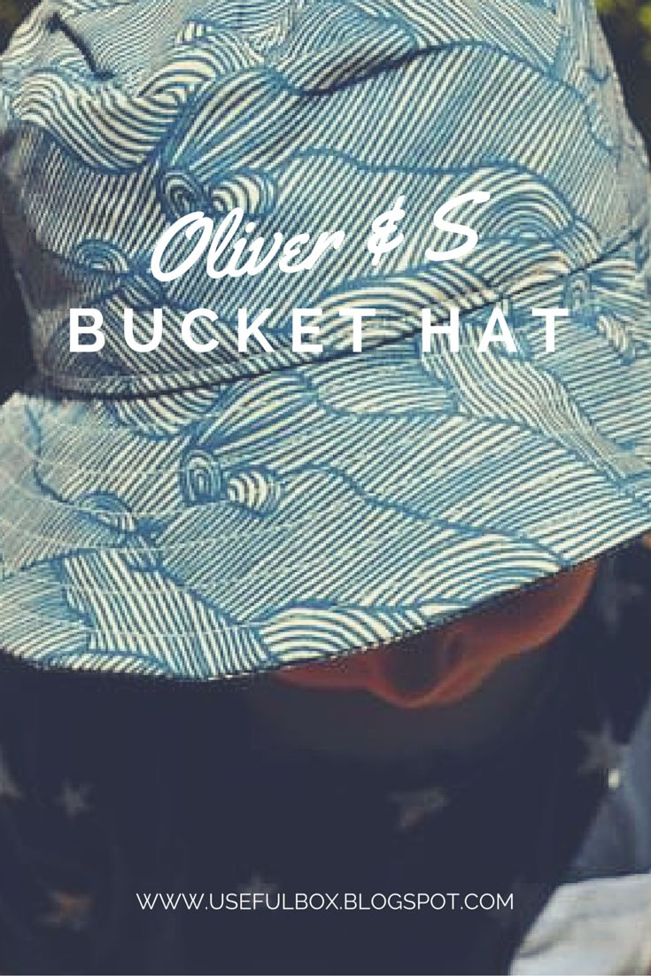 We loved making the Oliver & S bucket hat.  It really is the perfect pattern! xx