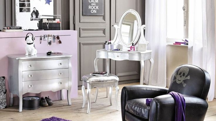 17 meilleures id es propos de coiffeuse baroque sur pinterest deco chambre romantique. Black Bedroom Furniture Sets. Home Design Ideas