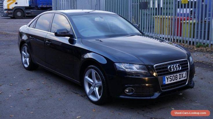 Audi A4 1.8 TFSI B8 2008 BLACK  #audi #a4 #forsale #unitedkingdom