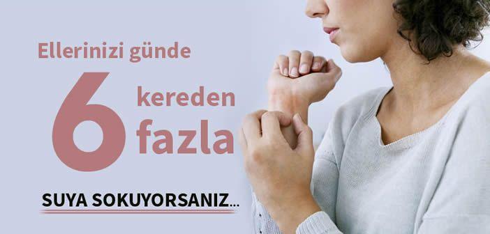 Ellerinizi günde 6 kereden fazla suyla temasa geçiriyorsanız mutlaka okuyun.   #egzama #el #kişiselbakım #bakım   Kadinlargecidi.com