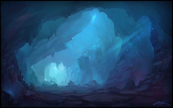 Cave concept art