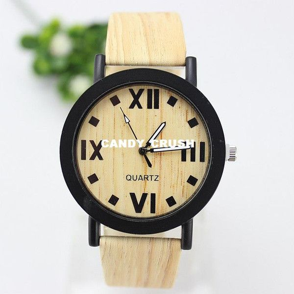 2015 new arrive Wood grain quartz watch rome big clock dial casual watches women dress wristwatches reloj AL0064