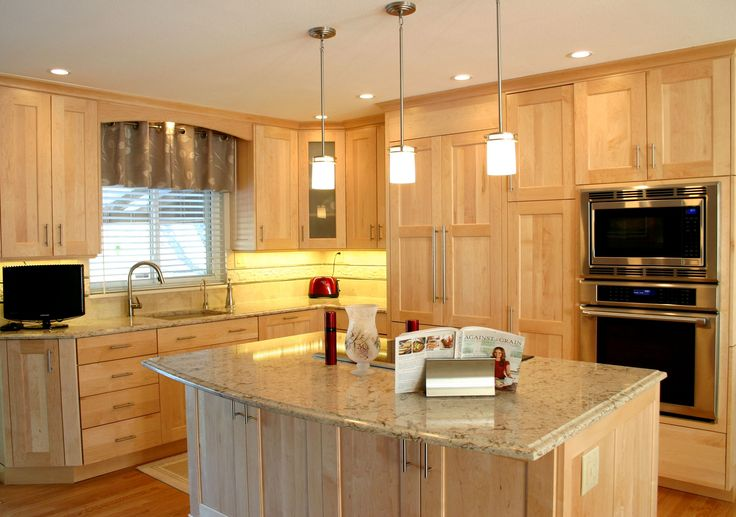 Bkc kitchen and bath kitchen remodel crystal cabinet for Birch vs maple kitchen cabinets