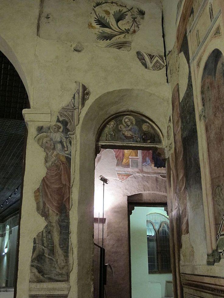 Ottaviano Nelli  - Storie di Maria - affresco - 1424 - Museo di Palazzo Trinci, Foligno - Cappella