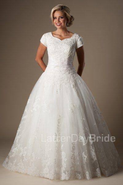 Augustina - Wedding Dress Front