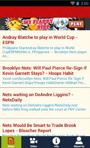 Hey New York Knicks Fans!! Stay in the know on your favorite basket ball team, New York Knicks, by installing this New York Knicks (Un-Official) FansApp.<p>You will receive up to date news, watch video, and read info about New York Knicks NBA in single ap