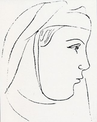 Matisse, Mariana Alcoforado, c. 1950