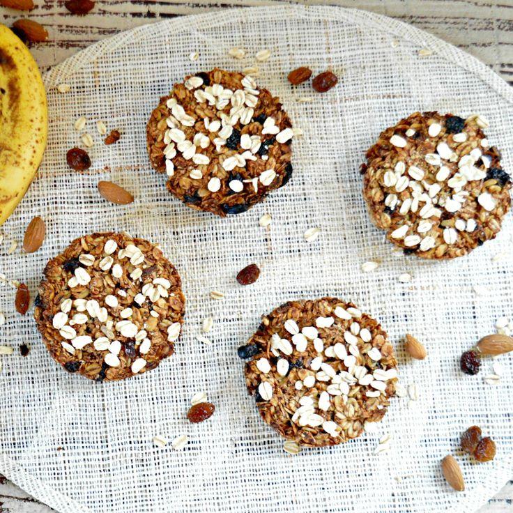 Les cookies à la banane sans sucre et sans gluten de Sweetashoneynz
