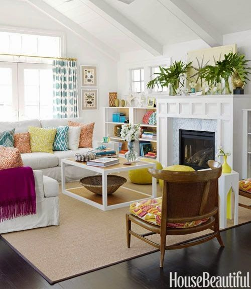 The Hankful House Color Inspired Beach Colors Living Rooms Pinterest Color House