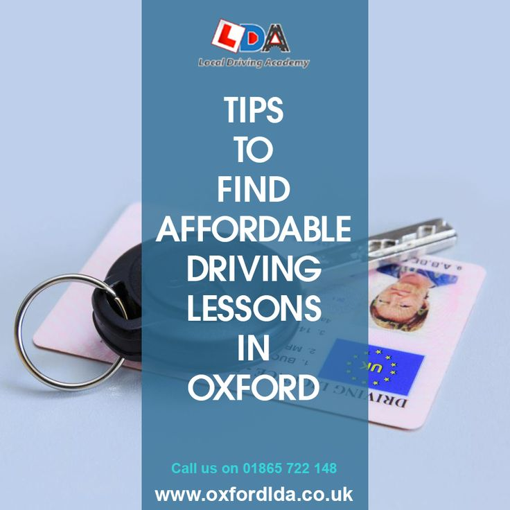 One reason why it is so difficult to find the right driving school is that there are so many different schools advertising cheap driving lessons in Oxford. Here are 7 expert hints and tips that will make it much easier for you to find high quality driving schools which also offer cheap driving lessons in Oxford: https://goo.gl/DcyVbm