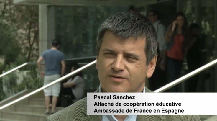 Émission du Samedi 23 Novembre 2013  Destination Francophonie #49 - Bonus 2 : Quel avenir pour la langue française en Espagne ? Pascal Sanchez. Attaché de coopération éducative à l'Ambassade de France en Espagne.