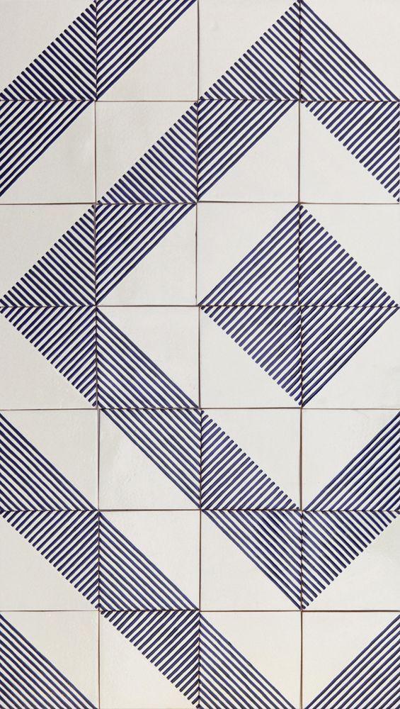 LINO tiles | design by davidpompa | Uriarte Talavera tiles | handpainted | handmade in México