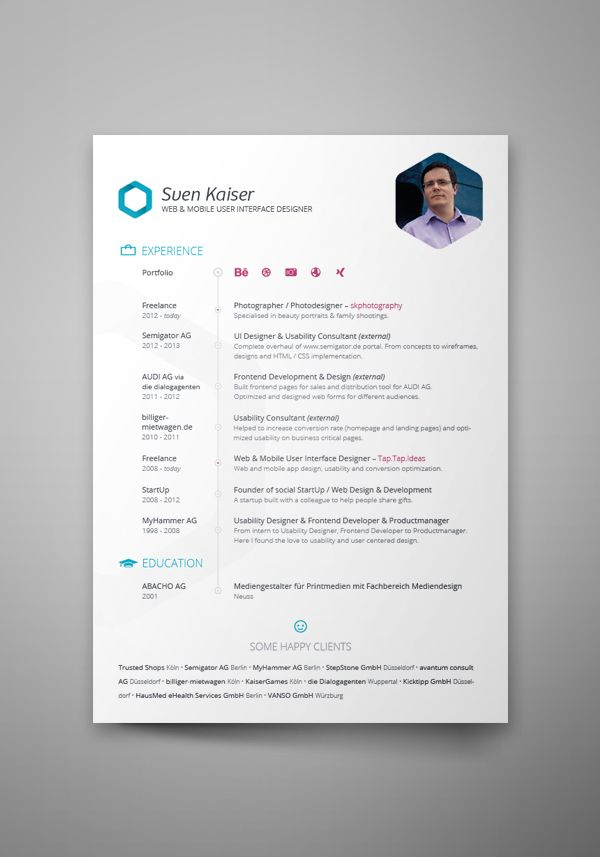 entry level graphic design resume examples%0A    Cool Resumes Made By Professional Graphic Designers  Learn iT