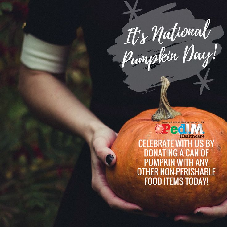It's #NationalPumpkinDay! Celebrate with us by donating a can of pumpkin with any other non-perishable food items today!   #donate #giveback #ourcommunity #florida #healthcare #health #doctors20 #patientengagement #nurses #physician #doctor #patientexperience #healthtalk #patient #healthcareforall #citruscounty #lecanto #homosassa #pediatrics #internalmedicine #physician #physicianassistant #cna