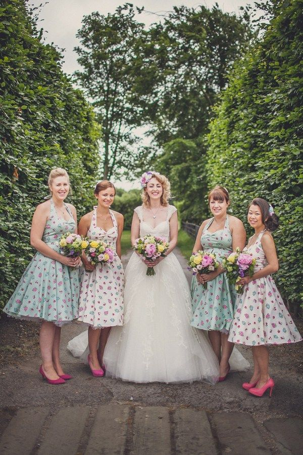 A Very British 50's Retro and Colourful Afternoon Tea Style Wedding | Love My Dress® UK Wedding Blog