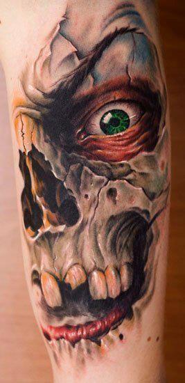 Tatuagens de Caveiras para você se inspirar   Tinta na Pele