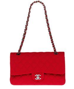 Pochette Chanel rouge