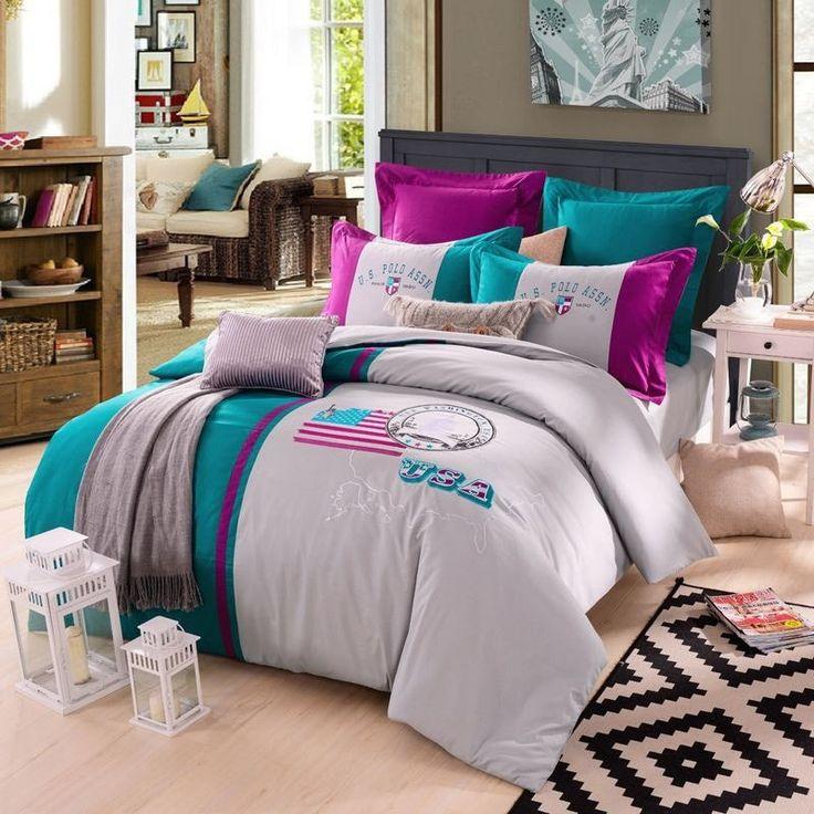 Les 25 meilleures id es de la cat gorie couette drapeau for Baltic linen maison 8 pc comforter set
