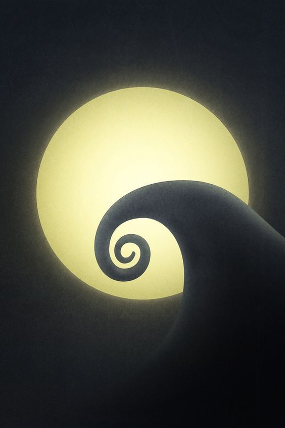 iPhone Wallpaper from my favorite movie ever. Nightmare Before Christmas :)