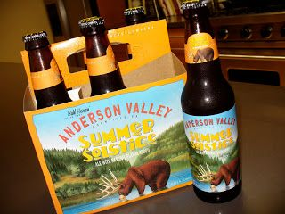 Anderson Valley Summer Solstice, my favorite beer of all time!