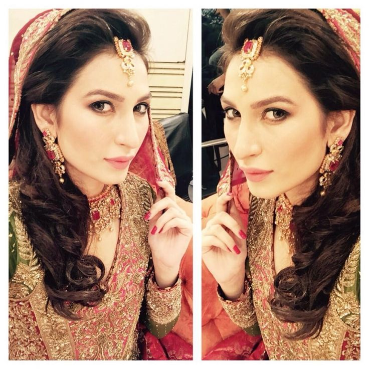 Real bride at Nadia Hussain Salon
