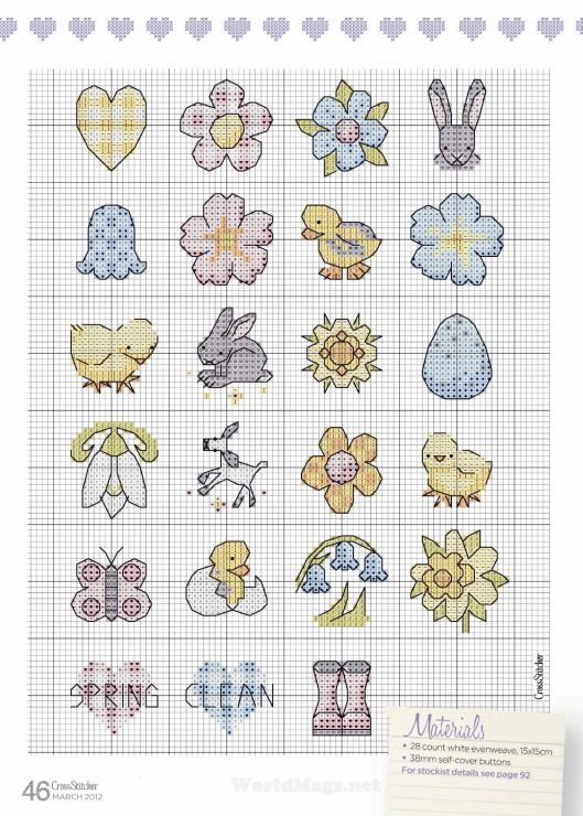 Gallery.ru / Foto # 44 - Cross Stitcher 250 2012.03 - Los-ku-tik