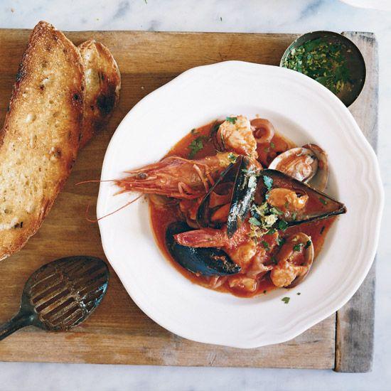 Italian Seafood Stew // More Hearty Stews: http://www.foodandwine.com/slideshows/hearty-stews #foodandwine