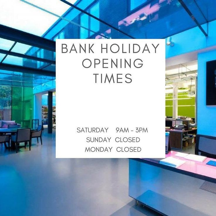 Our offices and showrooms are closed for the bank holiday on Monday 28th August. Have a lovely long relaxing weekend everyone!