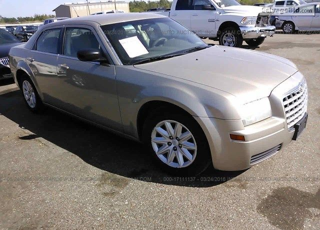 2008 #Chrysler 300 for Sale at SalvageBid #Auto Auction. Register to Bid Now!