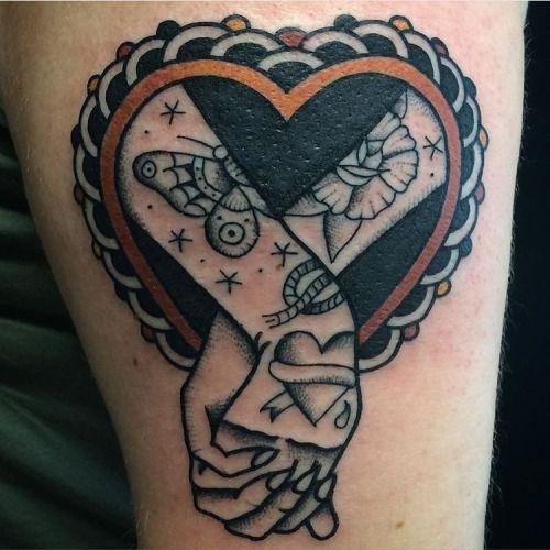 oldlinesblog: #tattoo by @bertz_tattooing #tattoos #tattooart...