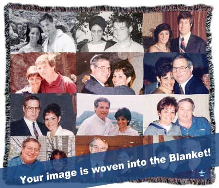Photo Collage Personalized Throw Blanket - SALE PRICE: $149.95 USD