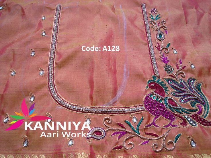 Best images about kanniya aari works on pinterest