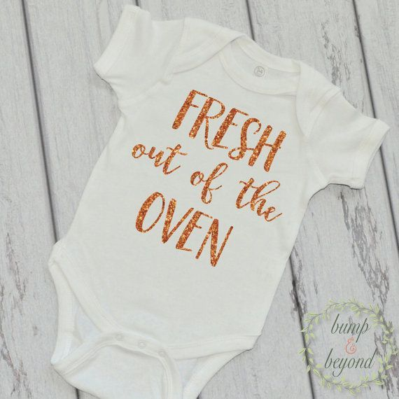 nice Newborn Thanksgiving Outfit Baby Girl Thanksgiving Outfit Fresh Out Of The Oven ...