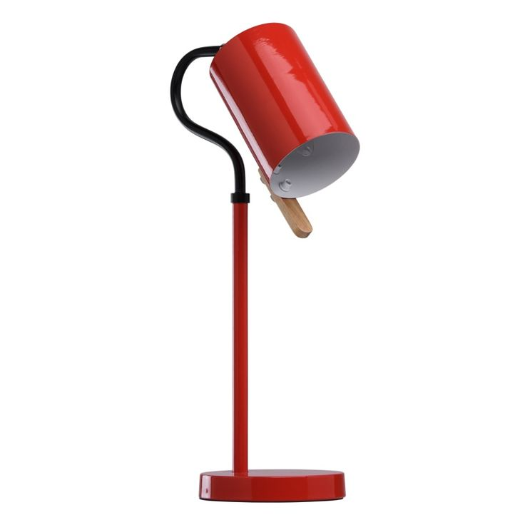 moderne rote tischleuchte 1 flammig mw light 680030901 - Feuer Modernen Design Rotes Esszimmer
