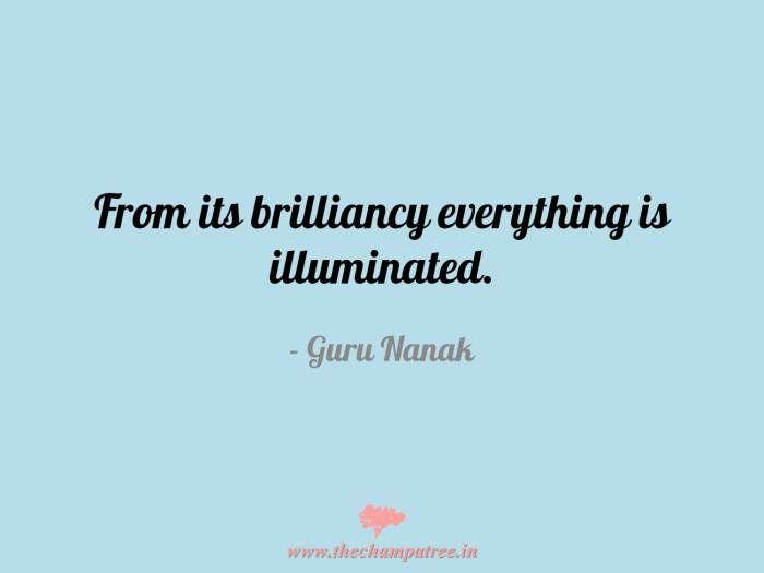 #InspirationalQuotes for #Gurupurab: http://thechampatree.in/2015/11/25/guru-nanak-jayanti/