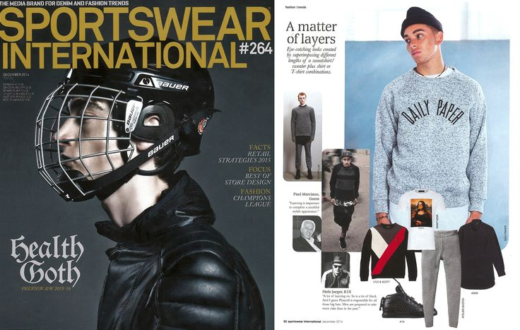 Scotch & Soda featured in Sportswear International Germany | December 2014